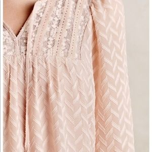 Anthropologie One September Attylie Blouse Large